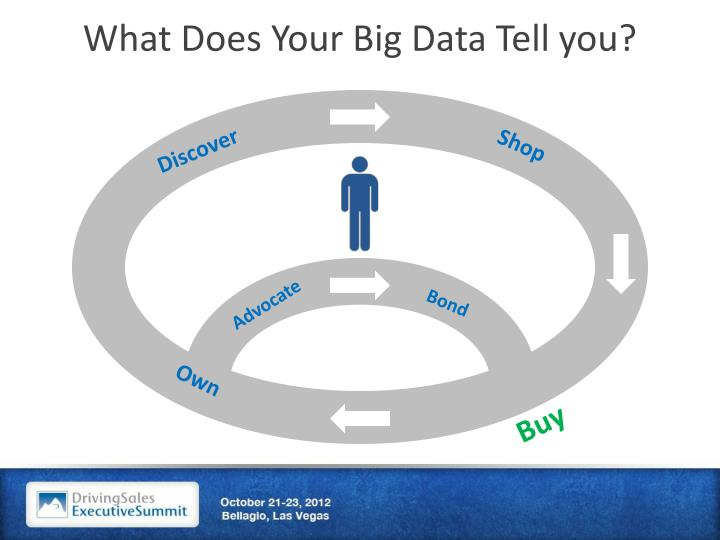 What Does Your Big Data Tell you?