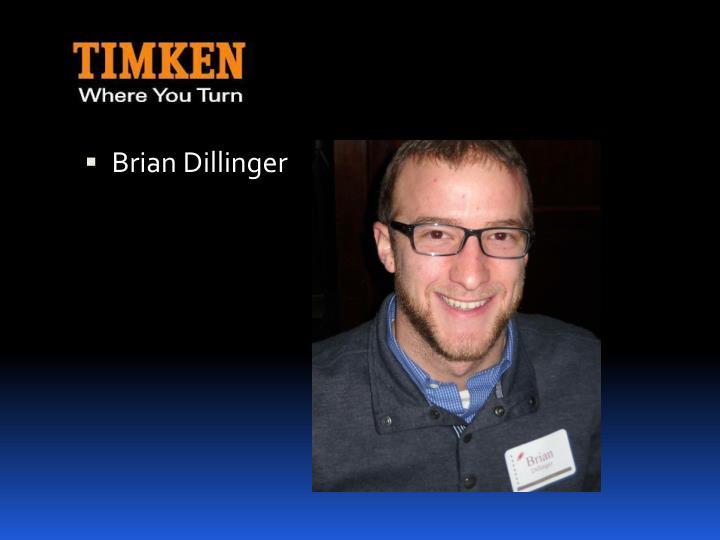 Brian Dillinger