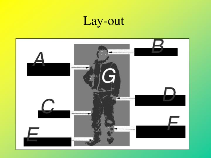 Lay-out