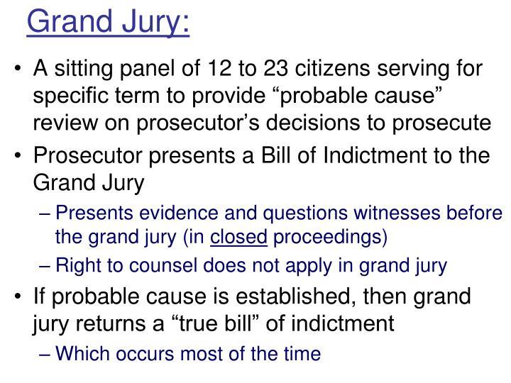 Grand Jury: