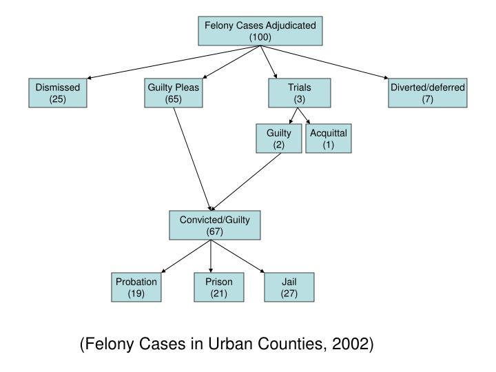 Felony Cases Adjudicated