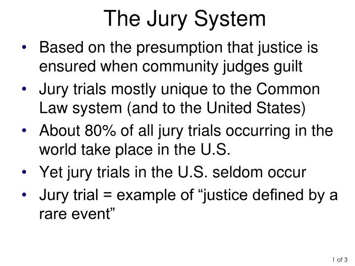 The Jury System