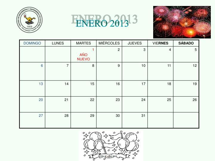 ENERO 2013
