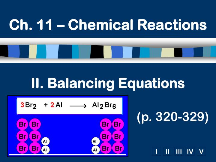 Ch. 11 – Chemical Reactions