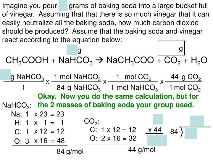 Ppt baking soda and vinegar limiting reactant lab powerpoint presentation id 2882558 - Unknown uses of baking soda ...
