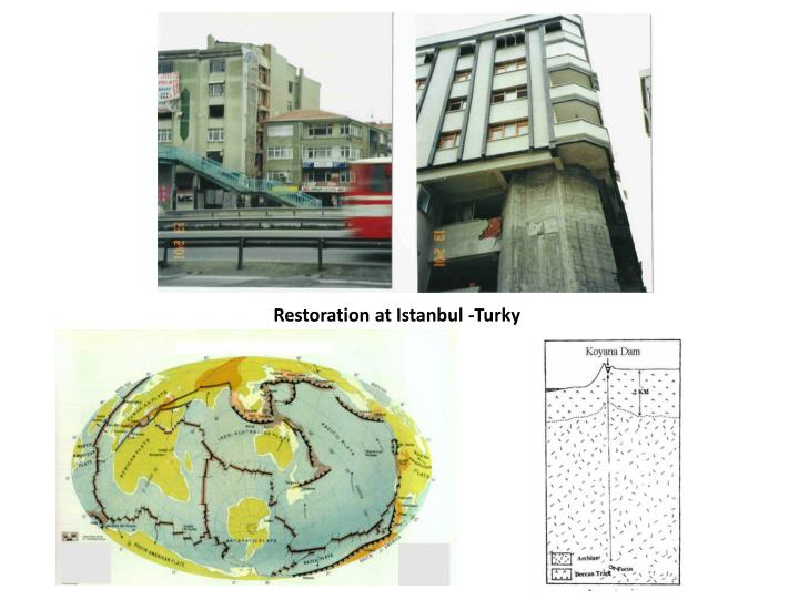 Restoration at Istanbul -Turky