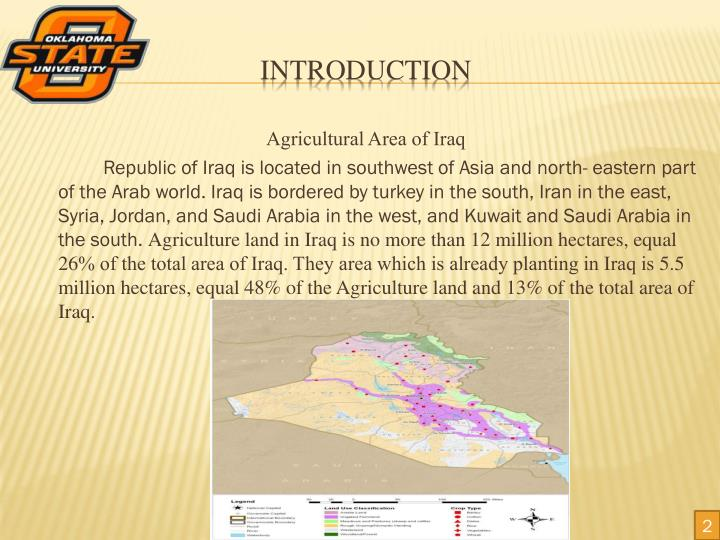 Agricultural Area of Iraq