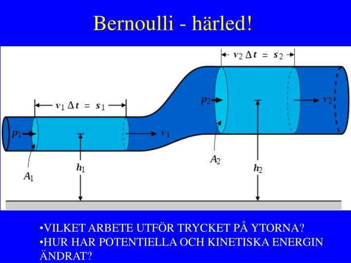 Bernoulli - härled!