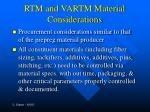 rtm and vartm material considerations