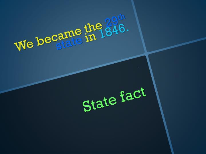 State fact