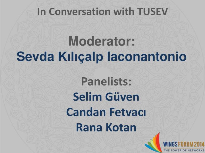 In Conversation with TUSEV