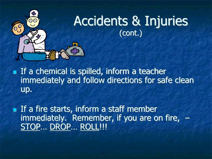 Accidents & Injuries
