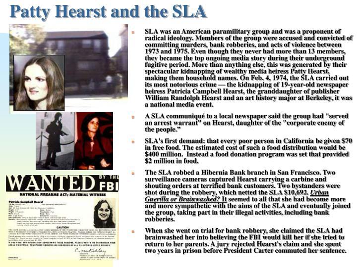 Patty Hearst and the SLA