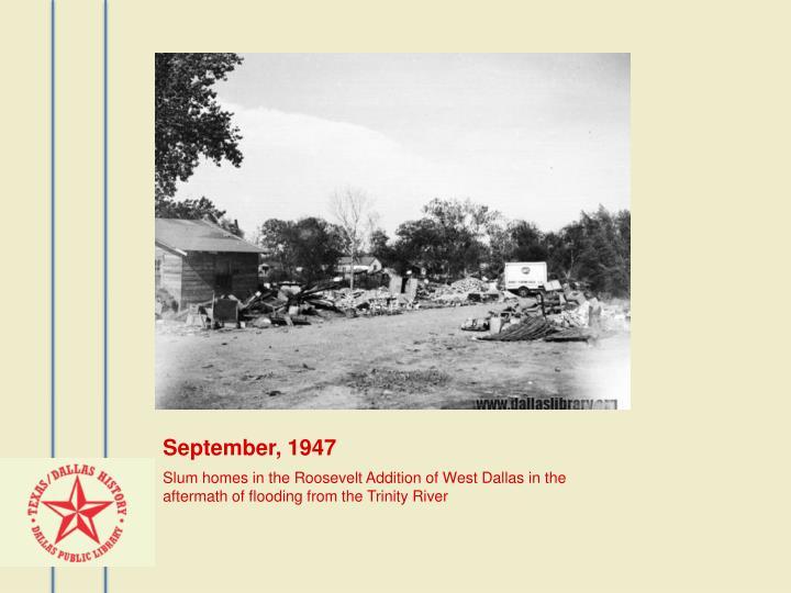 September, 1947