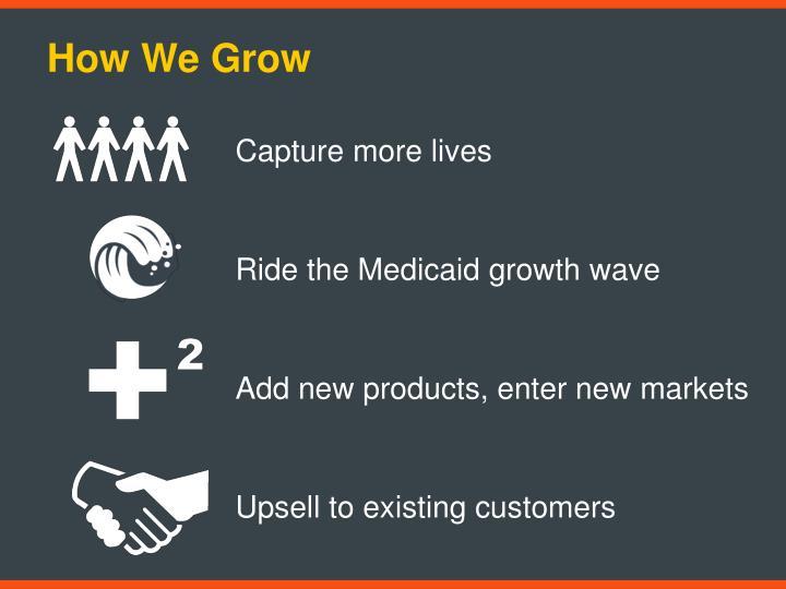 How We Grow
