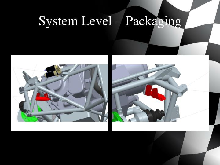 System Level – Packaging
