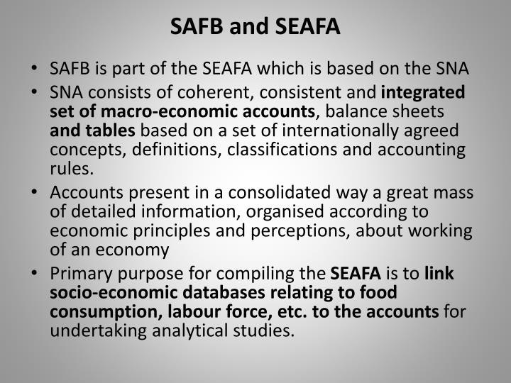 SAFB and SEAFA