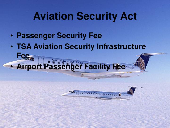 Aviation Security Act