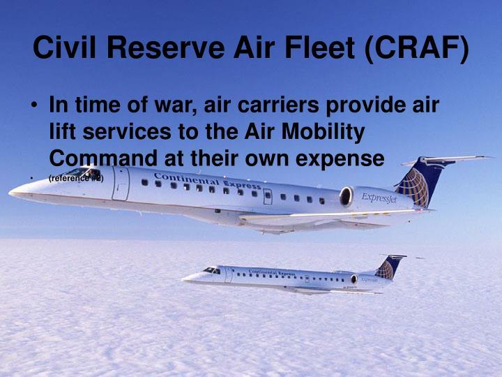 Civil Reserve Air Fleet (CRAF)