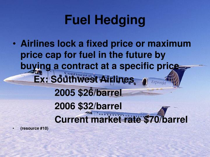 Fuel Hedging
