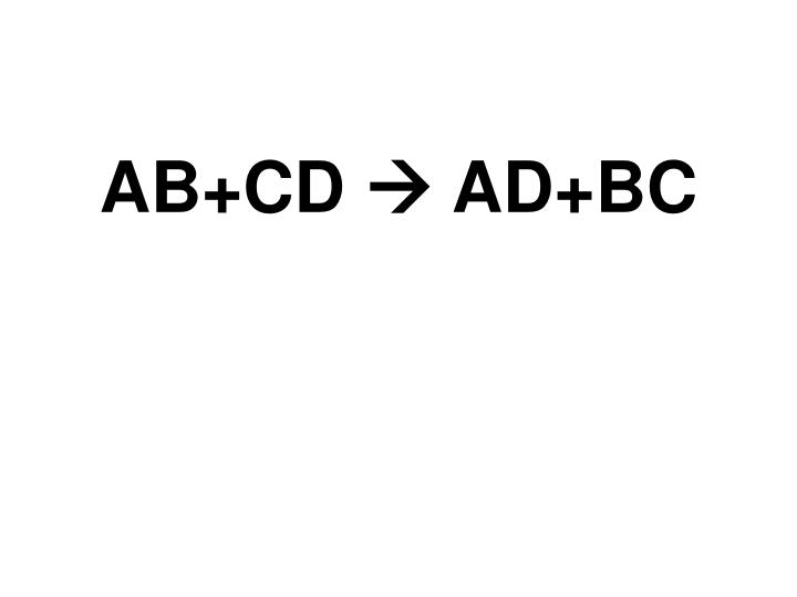 AB+CD