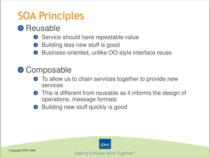 SOA Principles