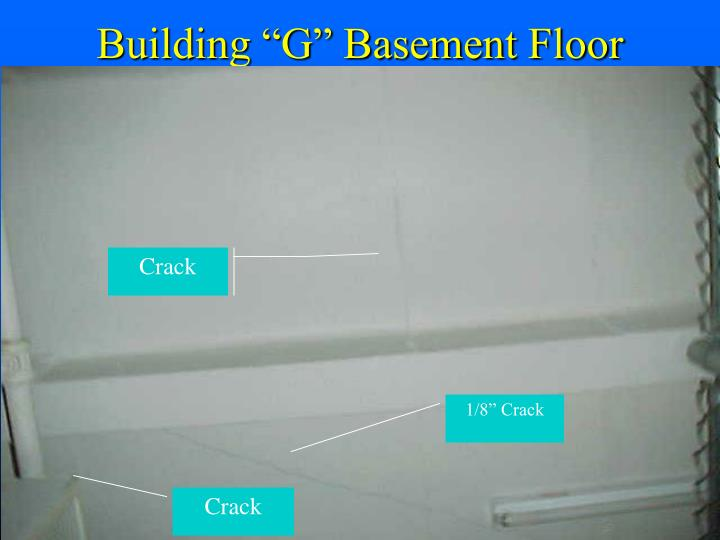 "Building ""G"" Basement Floor"