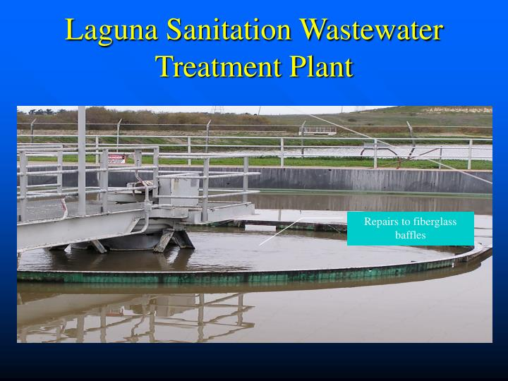 Laguna Sanitation Wastewater Treatment Plant