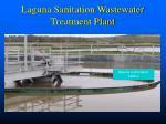laguna sanitation wastewater treatment plant