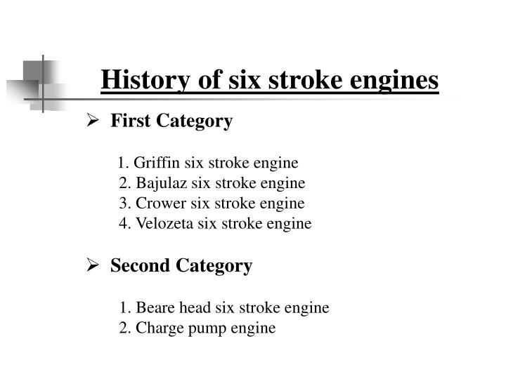 History of six stroke engines