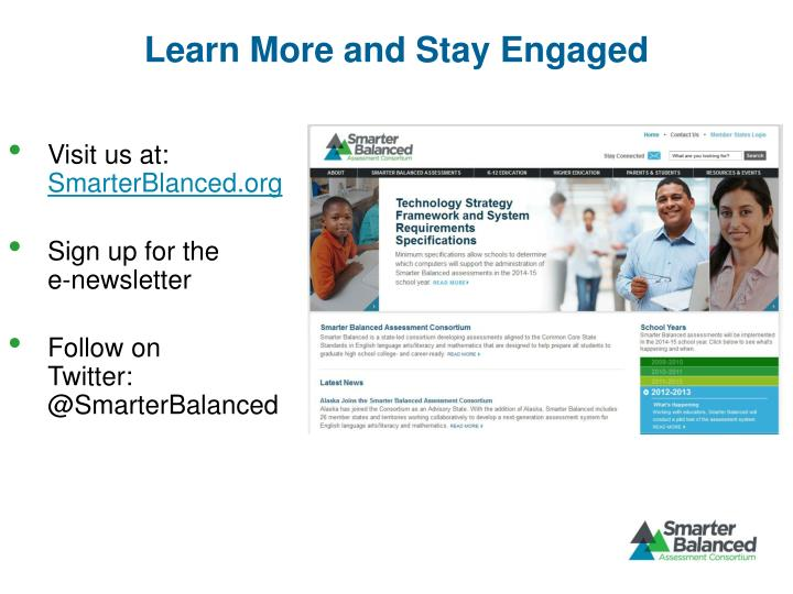 Learn More and Stay Engaged