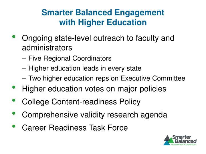Smarter Balanced Engagement