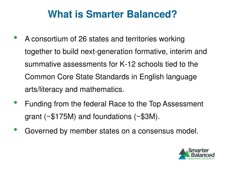 What is Smarter Balanced?