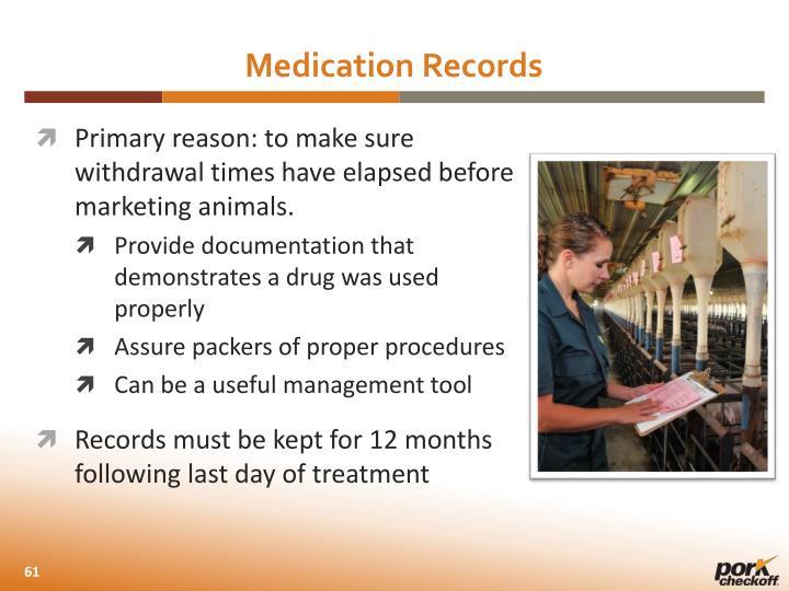 Medication Records