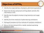 objectives of gpp 4