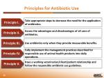 principles for antibiotic u se