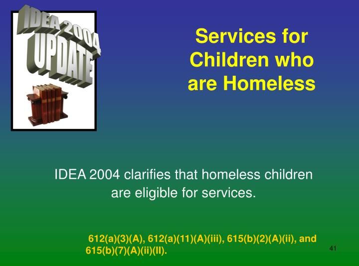 Services for Children who