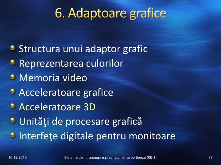 6. Adaptoare