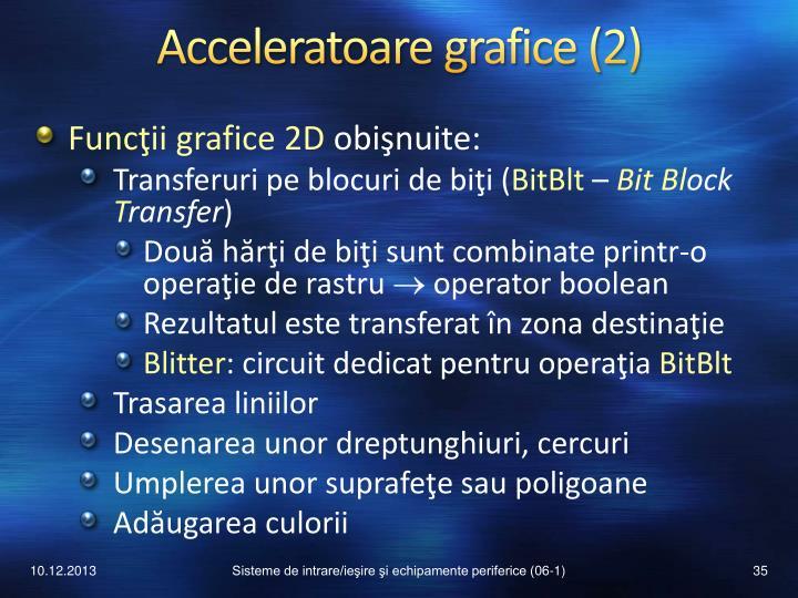 Acceleratoare grafice (2)