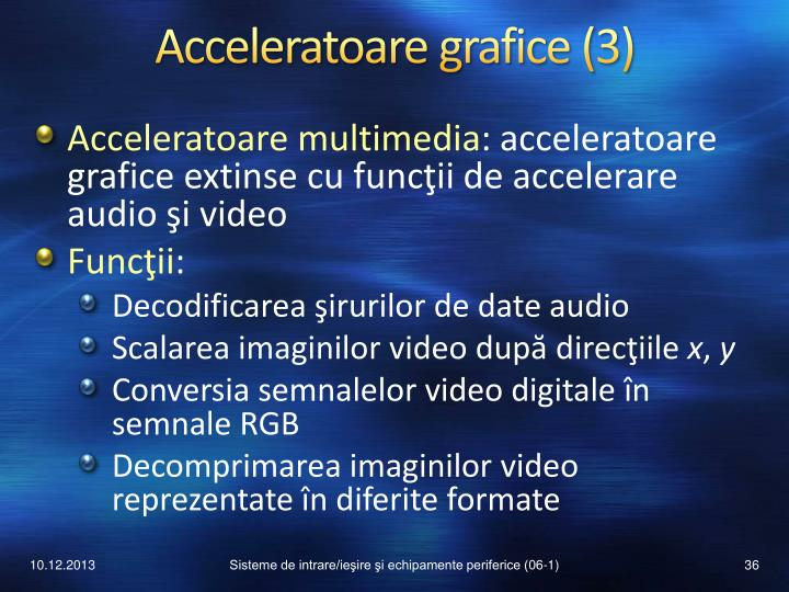 Acceleratoare grafice (3)
