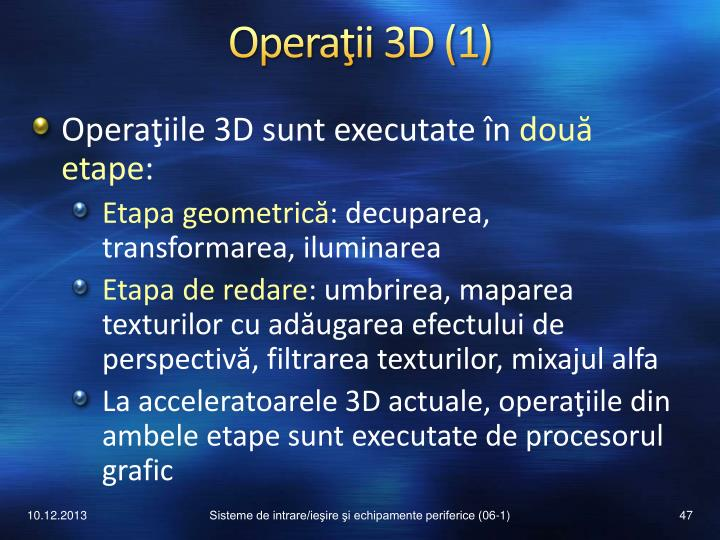 Operaţii 3D (1)