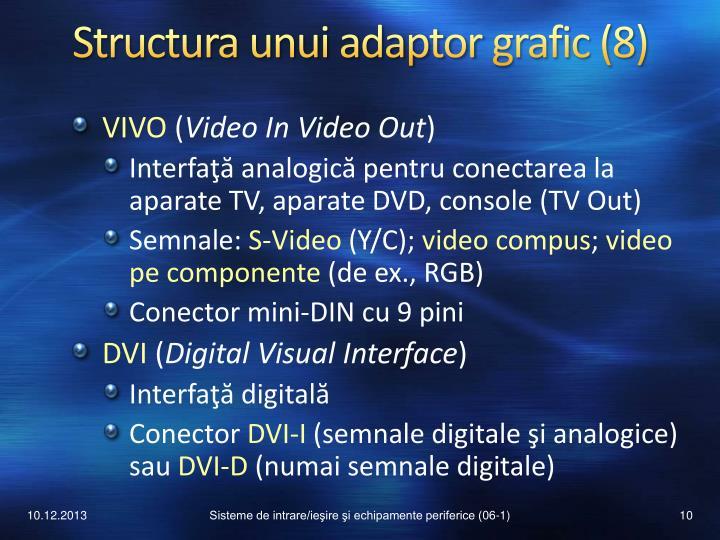 Structura unui adaptor