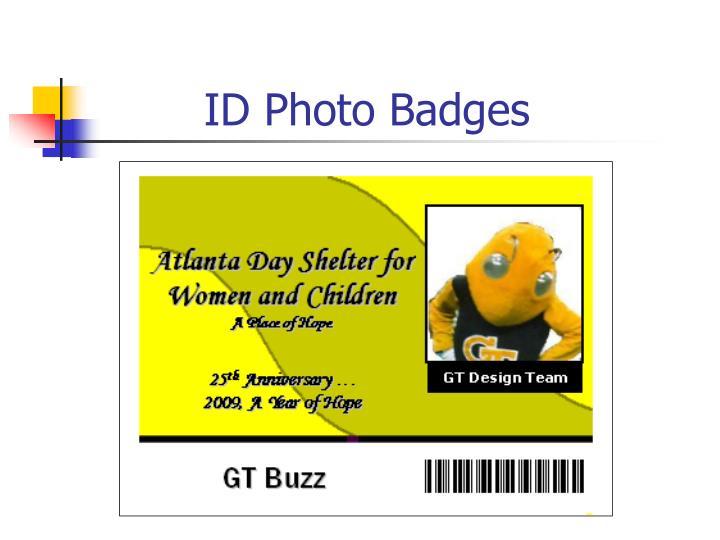 ID Photo Badges