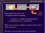 learning speech