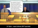 dr taylor expert witness ent specialist4
