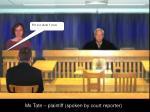 ms tate plaintiff spoken by court reporter3