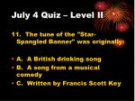 july 4 quiz level ii2