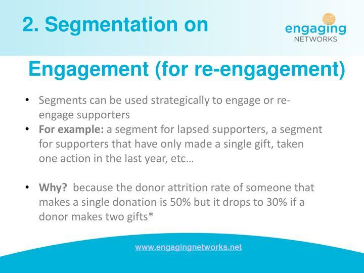 2. Segmentation on