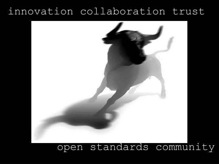 innovation collaboration trust