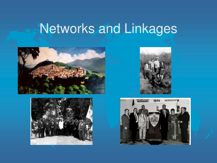 Networks and Linkages